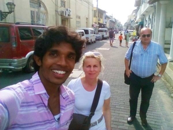 Deutscher Fahrer Sri Lanka