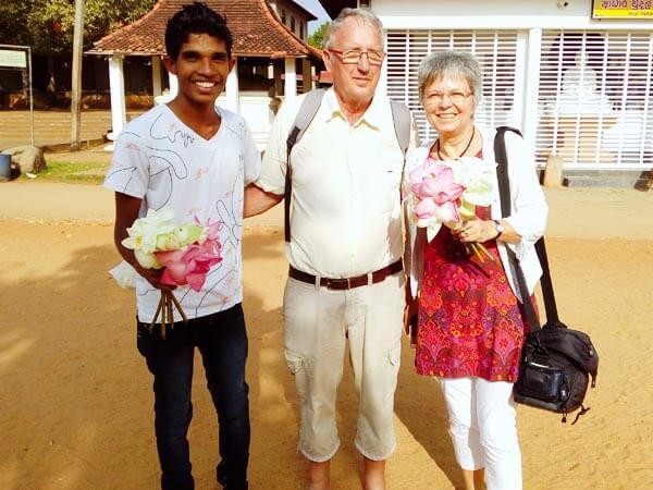 Sri Lanka deutsch sprechender Fahrer