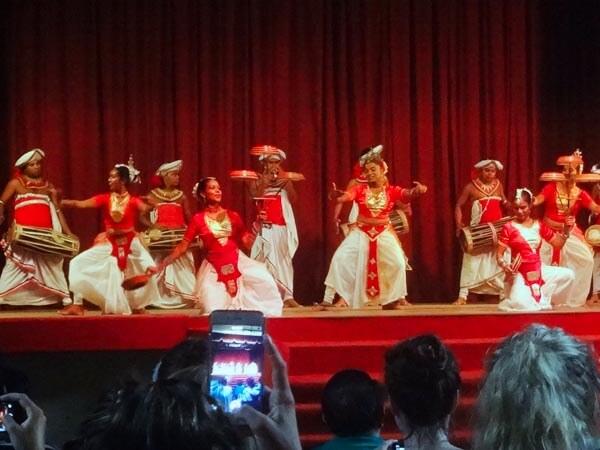 Kandyan cultural dance show